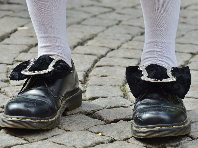 Desde sus zapatos